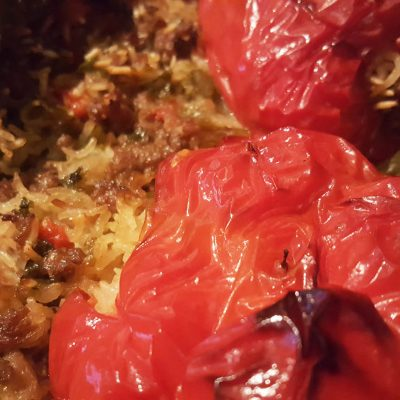 Albanian Stuffed Peppers