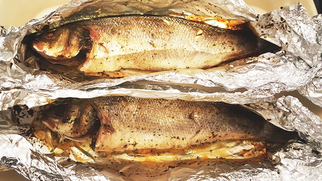 Garlic Infused Fish