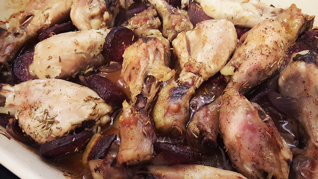 Chicken & Albanian Salami