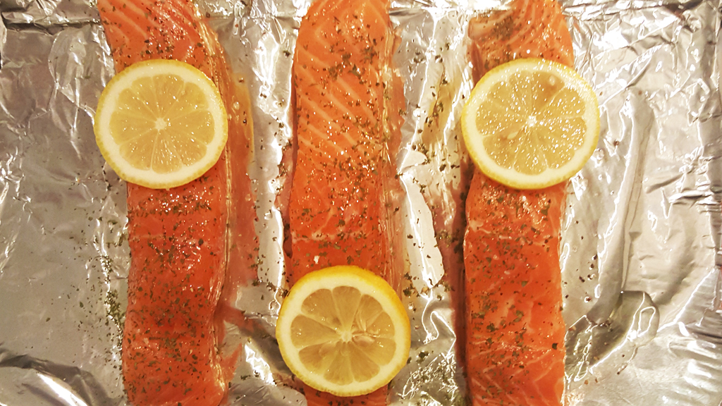 Simple Seasoned Salmon