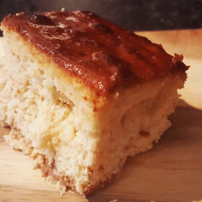 Albanian Three Milk Cake - Trilece
