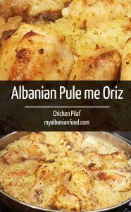 Albanian Chicken Pilaf