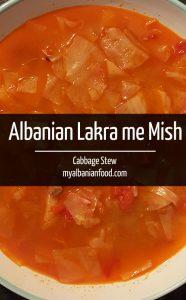 Albanian Lakra me Mish