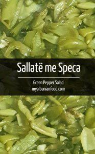 Green Pepper Salad