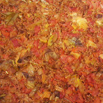 Albanian Leek Bake