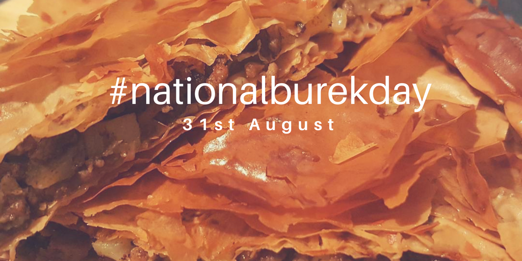 National Burek Day #nationalburekday