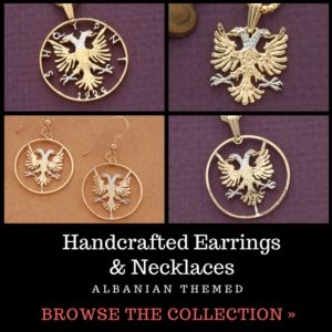 Handcrafted Albanian Earrings & Necklaces