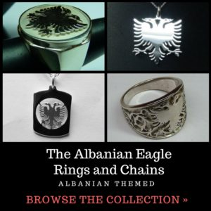 Albanian Eagle Rings and Chains