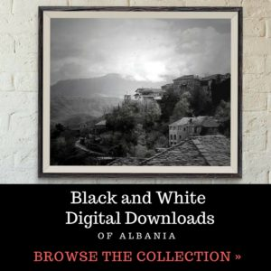 Black and White Albanian Photos