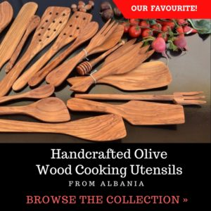 Handcrafted Wood Cooking Utensils